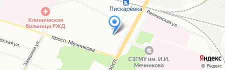 ОЧАРОВАНИЕ на карте Санкт-Петербурга