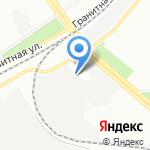Весёлый эвакуатор на карте Санкт-Петербурга