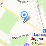 ЦААС на карте Санкт-Петербурга