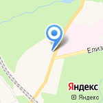 Александрова Дача на карте Санкт-Петербурга