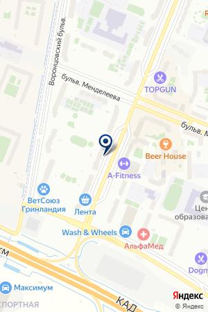 RESTART на карте Мурино