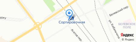 Софийский рынок на карте Санкт-Петербурга