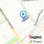 Мировые судьи Красногвардейского района на карте Санкт-Петербурга