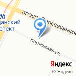 Транкомс на карте Санкт-Петербурга