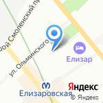 Модуль-Проект на карте Санкт-Петербурга