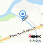 ЭРВИСТ-Северо-Запад на карте Санкт-Петербурга