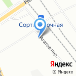 Термофор на карте Санкт-Петербурга