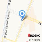 Агроферма на карте Санкт-Петербурга