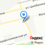 ТАНД-М на карте Санкт-Петербурга