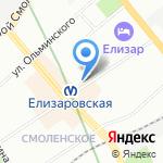 Гранд-экс на карте Санкт-Петербурга