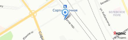Bico на карте Санкт-Петербурга