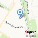 Зоошарм на карте Санкт-Петербурга