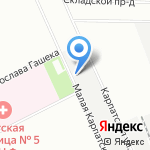Сигнал на карте Санкт-Петербурга