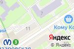 Схема проезда до компании ТриКотаЖ в Санкт-Петербурге