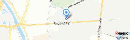 РУСГАНЗА Продактс на карте Санкт-Петербурга