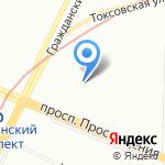 Профессиональная служба перевозок на карте Санкт-Петербурга