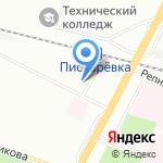 Сметное дело на карте Санкт-Петербурга
