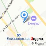 Школа-интернат №31 на карте Санкт-Петербурга
