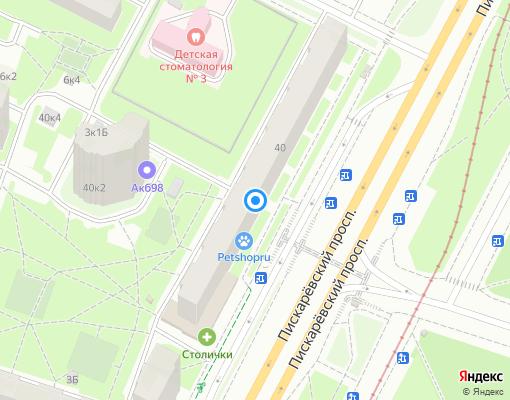 Жилищно-строительный кооператив «ЖСК-266» на карте Санкт-Петербурга