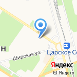 К Татьяне на карте Санкт-Петербурга