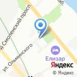 АРС-Инжиниринг на карте Санкт-Петербурга