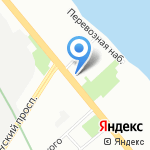 Жилищное агентство Невского района на карте Санкт-Петербурга