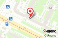 Схема проезда до компании Изумруд в Санкт-Петербурге