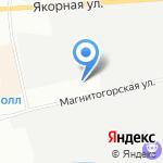 Кабриолика на карте Санкт-Петербурга