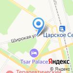 ВсеНитки на карте Санкт-Петербурга