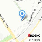 Едем в Питер на карте Санкт-Петербурга