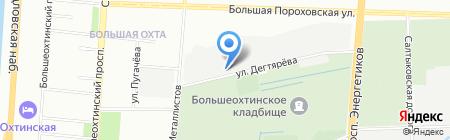 ГРОТЕКС на карте Санкт-Петербурга