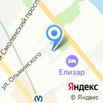 Ленинградский областной противотуберкулезный диспансер на карте Санкт-Петербурга