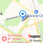 Детский сад №33 на карте Санкт-Петербурга
