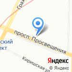 МИР ДВЕРЕЙ на карте Санкт-Петербурга