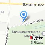 Профильные системы на карте Санкт-Петербурга