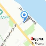 Алефф на карте Санкт-Петербурга