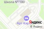 Схема проезда до компании Лаваже в Санкт-Петербурге