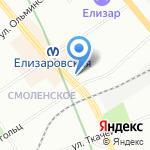 Юридический центр на карте Санкт-Петербурга