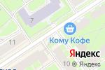 Схема проезда до компании Бистро в Санкт-Петербурге