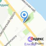 Оптово-розничная фирма на карте Санкт-Петербурга