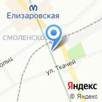 Альтернативная Служба Доставки на карте Санкт-Петербурга