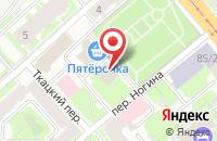 Схема проезда до компании Модная семья в Астрахани