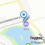 Автостоянка на карте Санкт-Петербурга