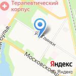 Царскосельский на карте Санкт-Петербурга