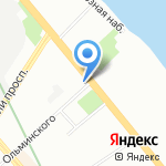 СевЗапКомплект на карте Санкт-Петербурга