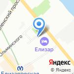 Женская консультация №31 на карте Санкт-Петербурга