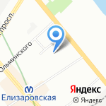 ТераБит на карте Санкт-Петербурга