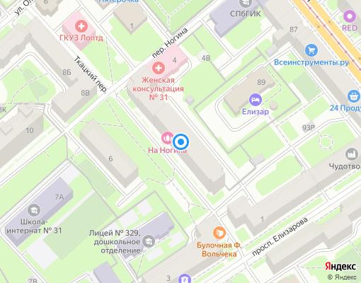 Товарищество собственников жилья «Невская пристань» на карте Санкт-Петербурга