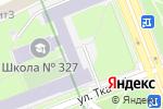 Схема проезда до компании Средняя общеобразовательная школа №327 в Санкт-Петербурге