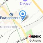 Магазин одежды и обуви для всей семьи на карте Санкт-Петербурга